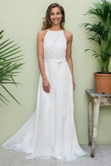 Свадебное платье для полных свободного кроя