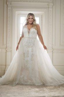 Свадебное платье трансформер для полных
