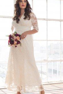 Свадебное платье для полных тренды