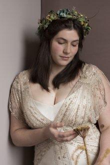 Свадебное платье для полных винтажное
