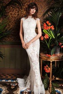 Кружевное свадебное платье 2019