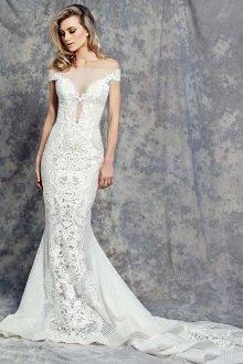 Кружевное свадебное платье тенденции