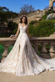 Кружевное свадебное платье трансформер