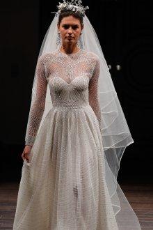 Свадебное платье со шлейфом ажурное