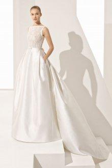 Свадебное платье со шлейфом длинным