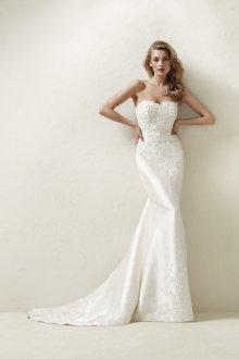 Свадебное платье со шлейфом небольшим