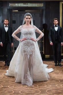 Свадебное платье со шлейфом для невесты