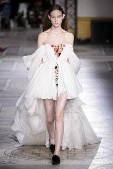 Свадебное платье со шлейфом шифоновое