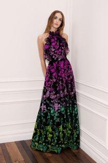 Вечерняя юбка с цветами