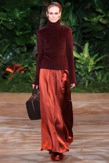 Вечерняя юбка коричневая