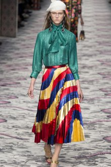 Вечерняя юбка разноцветная