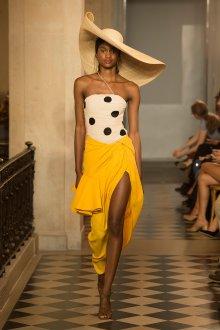 Вечерняя юбка желтая
