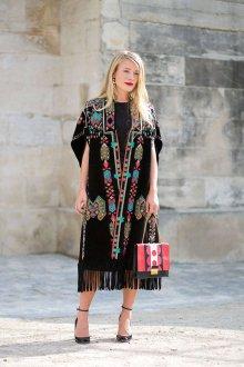 Платье бохо с бахромой