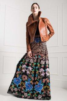 Платье бохо цветочное