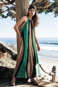 Платье бохо геометрическое