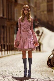 Платье бохо клеш