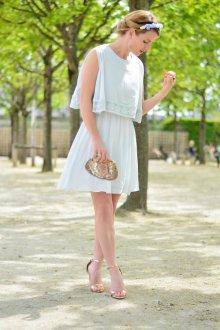 Платье бохо льняное