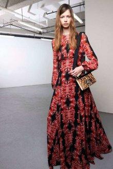 Платье бохо с принтом