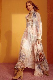 Платье бохо шелковое