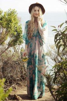 Платье бохо шифоновое
