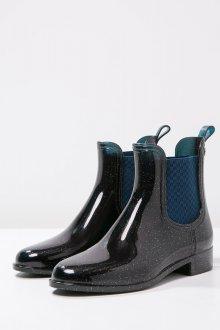 Резиновые ботинки с блестками