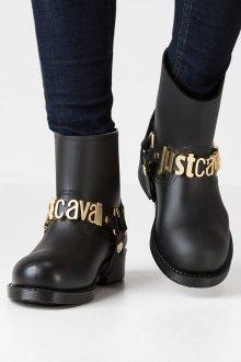 Резиновые ботинки с декором