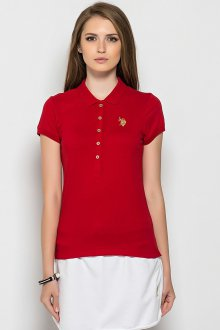 Красная футболка красивая