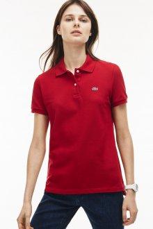 Красная футболка Lacoste