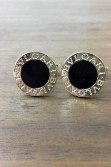 Серьги гвоздики круглые черные