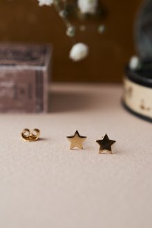 Серьги гвоздики в виде звезды