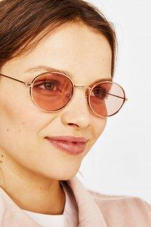 Круглые очки цветные