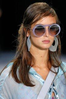 Круглые очки фиолетовые