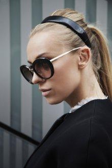Круглые очки простые