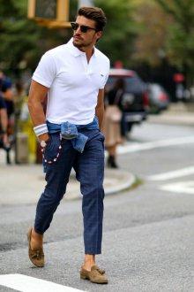Поло мужское с брюками