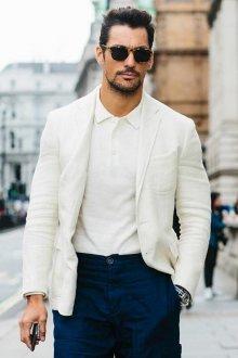 Поло мужское с пиджаком