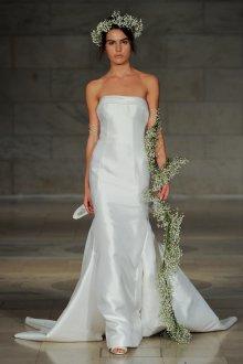 Свадебное платье рыбка гладкое