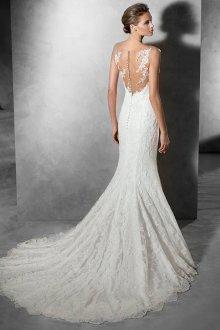 Свадебное платье рыбка красивое