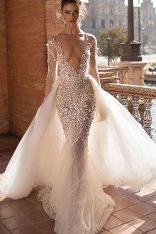 Свадебное платье рыбка лето 2018