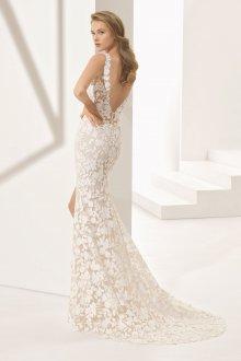 Свадебное платье рыбка модное