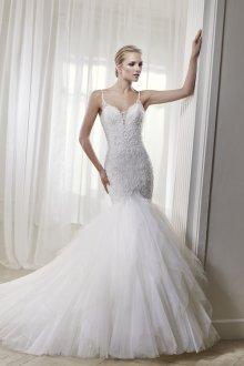 Свадебное платье рыбка пышное