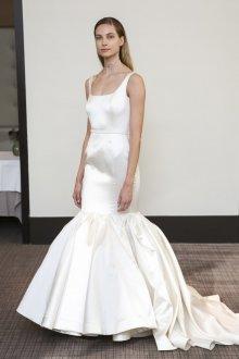 Свадебное платье рыбка шелковое