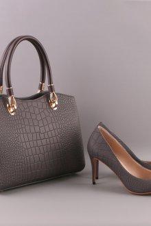 Серые туфли классические