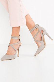 Серые туфли элегантные