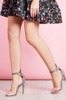 Серые туфли летние