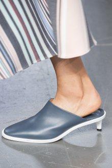 Серые туфли мюли