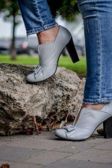 Серые туфли повседневные