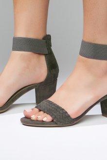 Серые туфли сандалии