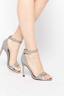 Серые туфли светлые