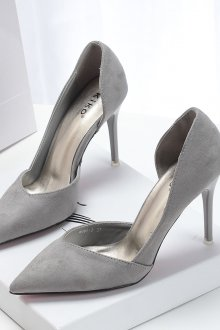 Серые туфли женские