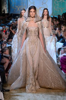 Свадебное платье айвори с блестками
